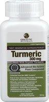 Genceutic Naturals: Certified Organic Turmeric 300Mg, 60 Caps