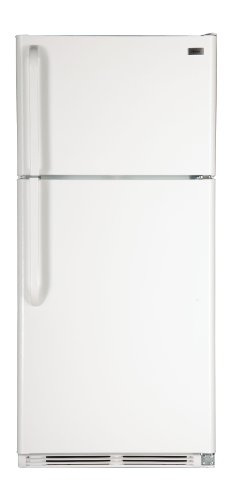 Haier Ht18Ts45Sw Energy Star Rated Frost-Free Top Freezer Refrigerator, 18.2 Cubic Feet, White