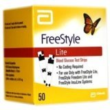 FreeStyle Lite Test Strips 1x50 expire 2015
