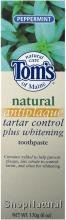 Toothpaste, Antiplaque Tartar Control Plus Whitening,