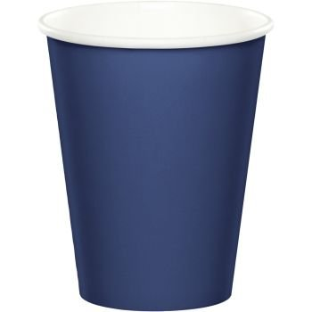 9 Oz Paper Cups , 24 count (navy blue) by Creative Converting