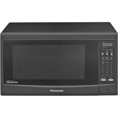 1300 Watt Inverter Microwave Oven in Black