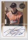 Michael Mcdowell (Trading Card) 2009 Press Pass Press Pass Signings [Autographed] #N/A front-878729