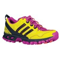 Womens Adidas Kanadia TR 5 Trail Running Shoes Lab Lime / Onix Pink G95063 Size 7.5
