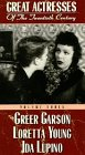 Great Actresses of 20th Centruy (Greer Garson, Loretta Young, Ida Lupino) (Volume Three) [VHS]