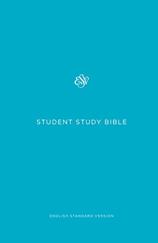 ESV Student Study Bible (Blue)