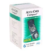 Accu-chek Compact Test Drums 102 Ct
