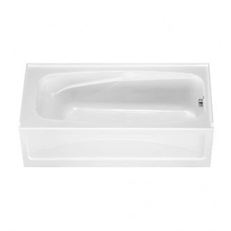 American Standard 1748.202.020 Colony Bath Tub with Integral Apron and Dual Molded-In Armrests (White)