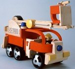 Plan Toys Fire Engine - 1