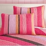 Peace Sign Quilted Pillow Shams Set Of 2