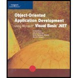 img - for Object-Oriented Application Development Using Microsoft Visual Basic .NET (Programming) book / textbook / text book