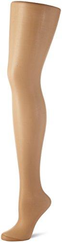 Nur Die Damen Strumpfhose Seidenfein, 15 DEN, Gr. 44 (Herstellergröße: 40-44=M), Braun (amber 230)