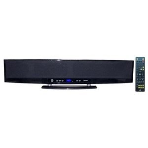 Pyle Psbv800 6 Way 300 Watt Multi Source Wall Mounted Sound Bar Withusb, Sd, Hd, Mp3, Hdmi, Fm Tuner And Srs 3D Technology