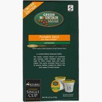 Green Mountain Pumpkin Spice Limited Edition Coffee For Keurig K Cup System, Pack Of 48 K Cups.