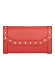 M&S Collection Leather Studded Border Purse