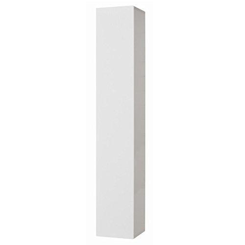 Mobile soggiorno bianco frassinato 6 ripiani con anta Cm 30x30xH 180