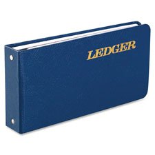 Ring Binder Ledger,A-Z Tab Index,100-Pg,5-1/2\