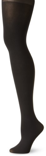 Ellen Tracy Women'S Complete Opaque Tight, Jet Black, Tall