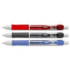 zebra-41020-orbitz-roller-ball-retractable-gel-pen-blue-ink-medium-dozen-zeb41020-by-zebra-technolog