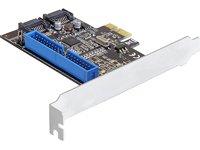Delock PCI Express Card 2x Internal SATA III / 1x Internal IDEreview