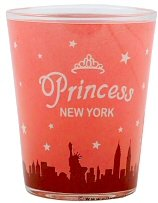 New York Shot Glass - Princess, New York Shot Glasses, New York City Souvenirs