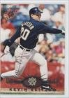 Kevin Seitzer Milwaukee Brewers (Baseball Card) 1995 Topps Stadium Club Virtual Reality #230