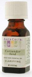 Aura Cacia - Coriander Seed - Essential Oils 1/2 oz