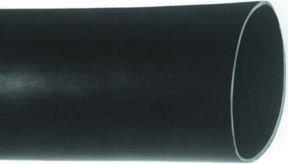 ALPHA WIRE – FIT-221-2 BK105 – HEAT SHRINK TUBING, 50.8MM ID, PO, BLK, 20FT, PK5