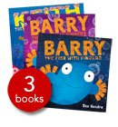 Barry The Fish With Fingers Collection - 3 Books (Paperback)