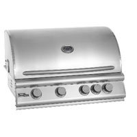 Flexfire 32 Inch 4 Burner Natural Gas Grill