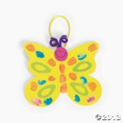 Thumbprint Butterfly Craft Kit 1dz/Arts and Crafts/School supplies/Activities/Toys