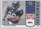 Maurice Morris Seattle Seahawks (Football Card) 2002 UD Authentics Glory Bound Jerseys #GBJMM at Amazon.com