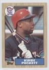 Kirby Puckett Minnesota Twins (Baseball Card) 2003 Topps All-Time Fan Favorites Buy Backs Fan Favorite #450 front-628644