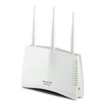Draytek V2130N - Router (10, 100, 1000 Mbit/s, 10/100/1000Base-T(X), 802.11b, 802.11g, 802.11n, Ethernet (RJ-45), Mobile network (USB), IEEE 802.11b, IEEE 802.11g, IEEE 802.11n, IEEE 802.3, 253 usuario(s)) Color blanco