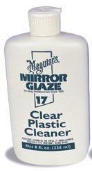 Meguiar's M17 Mirror Glaze Clear Plastic Cleaner - 8 oz.