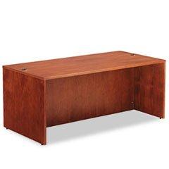 ** Verona Veneer Straight Front Desk Shell, 71w x 35-1/2d x 29-1/2h, Cherry **