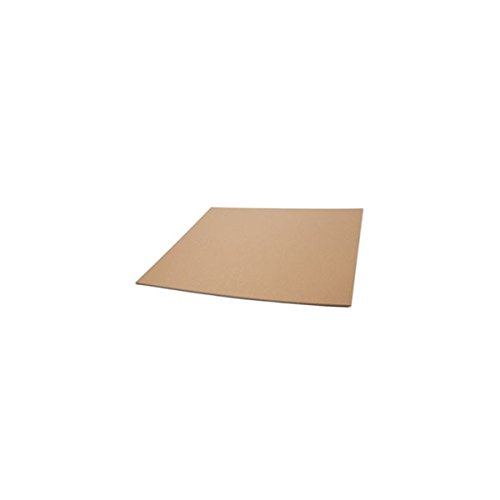 Pratt PRA1005 Corrugated Pads, Large, 36″ Length, 48″ Height, 0.5″ Width, Kraft (Pack of 25)