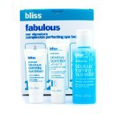 Bliss Fabulous Starter Kit: Foaming Face Wash 60ml + Eye Cream 5ml + Face Lotion 15ml - 3pcs