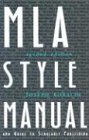 MLA Style Manual and Guide to Scholarly Publishing, 2nd Edition (0873526996) by Joseph Gibaldi