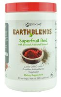 buy Vitacost - Earth Blends Earth Blends Superfruit Red With Broccolli, Kale And Spinach -- 11.4 Oz (323.1 G)