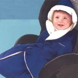 TENT SALE - Go Cozy Infant Travel Wrap - Gray/Black - 1