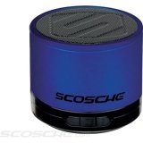 SCOSCHE BTSPK1BL Portable Bluetooth Wireless Media Speaker