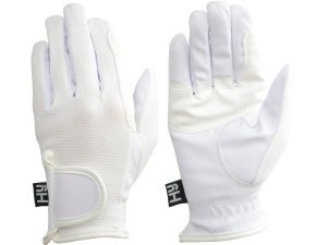 Hy5 Competition Horse Riding Gloves - Black - Extra Small