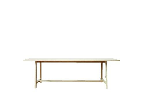 WRONG for HAY Frame Tisch - Buche matt lackiert - 200 x 90 cm Line Depping & Jakob Jörgensen, Buche