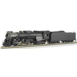 Bachmann Industries 2-8-4 Berkshire Ho Scale Rail Fan Version #763 Steam And Tender Nickel Plate Locomotive front-457334