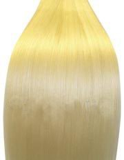 20 inch BLEACH BLONDE (Col 60). Full Head Clip in Human Hair Extensions. High quality Remy Hair!. 120g Weight