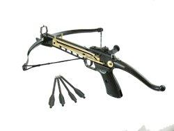 80 Lbs Cobra Self cocking Crossbow Pistol Cross Bow 15 Arrows