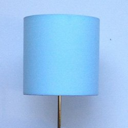 handmade lamp shade color solid aqua size 8 x 8. Black Bedroom Furniture Sets. Home Design Ideas