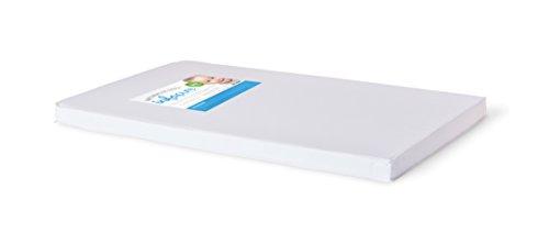 "Foundations Worldwide Infapure Compact Crib Foam Mattress, White, 2"" - 1"