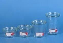 Weck 742802 Pots ronds 4 pièces 0,5 l